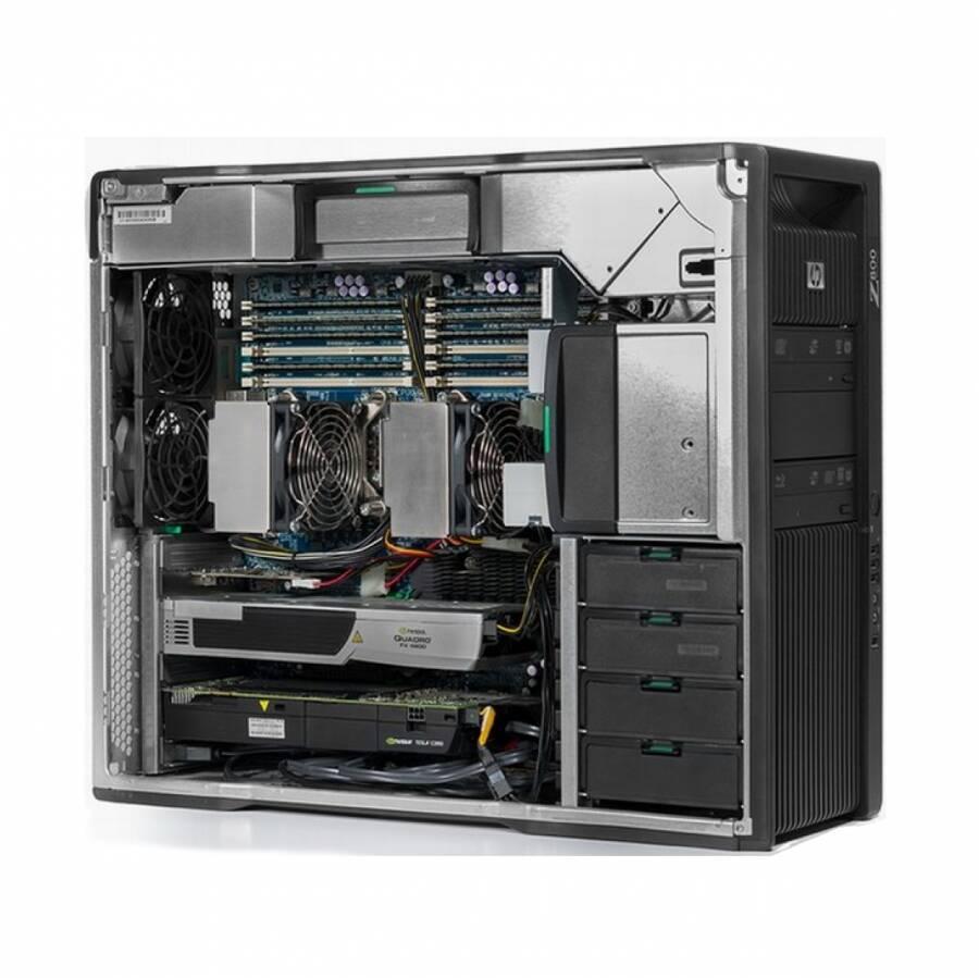 HP WorkStation Z400MT Xeon X5650 RAM 8GB SSD 128GB + HDD 1TB Quadro 2000