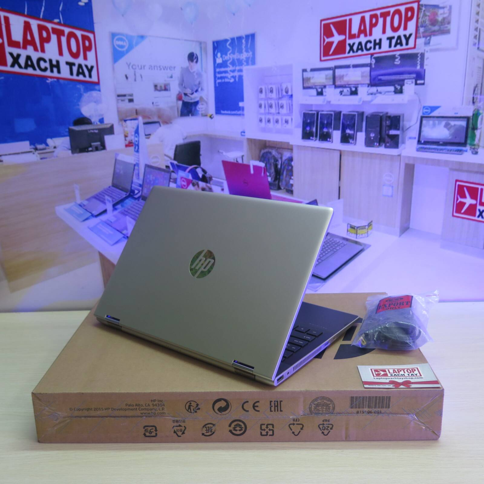 HP Pavilion x360 CD0082TU - Laptopxachtayshop.com